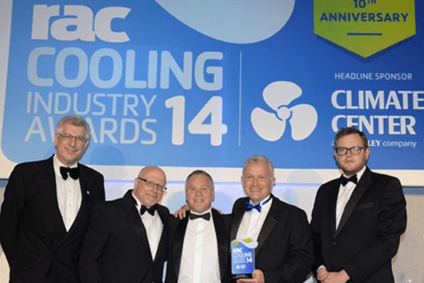 IsoCool win RAC Industrial Project of the Year award for second year running