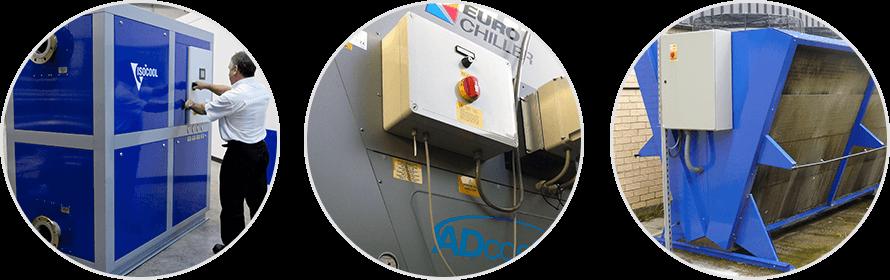 Energy saving process cooling